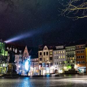 Jena, Citywalk im April