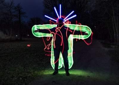 Jenafotografx, Kreative Lichtwerwelten, Lightpainting