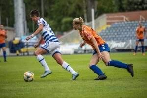 FF USV JENA, die Frauenfußball aus Jena