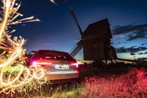 Kreative Fotoexperimente, Bockwindmühle
