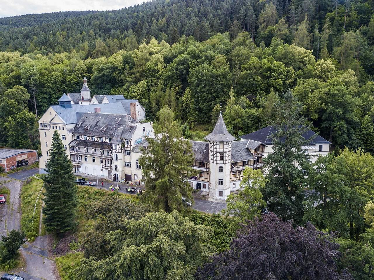 Sanatorium Schwarzeck, Bad Blankenburg Das Objekt, geschichtliche Infos