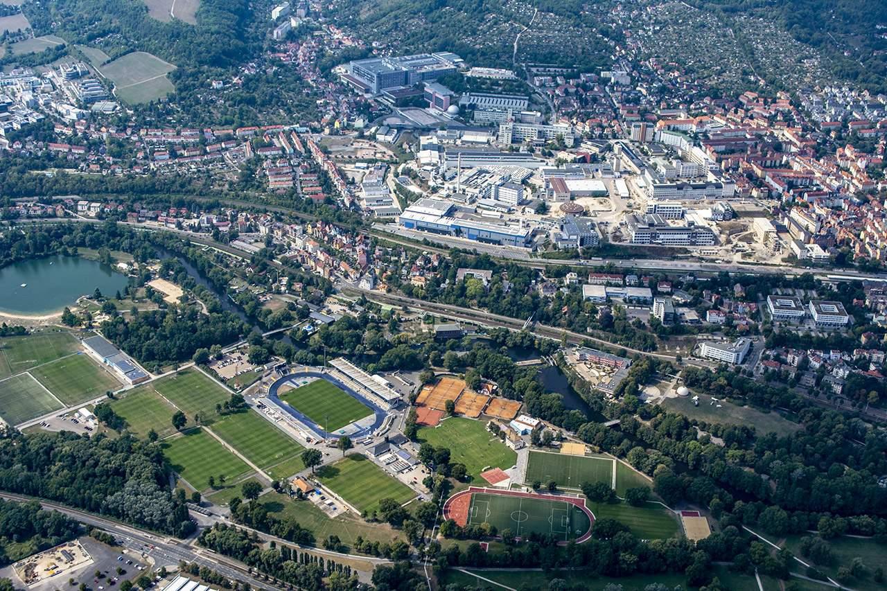 Jenafotografx, Fotos aus der Luft