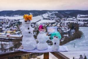 Dornburger Schlösser im Winter 2021
