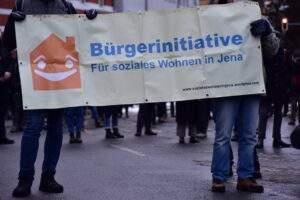 Protest gegen das Haushaltssicherungskonzept