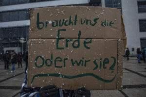 Globaler Klimastreik am 19. MÄRZ 2021 in Jena auf dem Ernst-Abbe-Platz